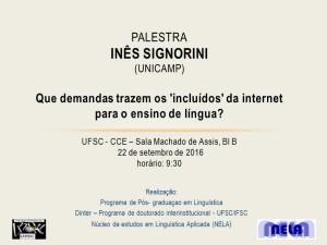 NELA/UFSC promove palestra atrelada aos debates e manifestações do dia 22/09 - Dia Nacional de Paralisação